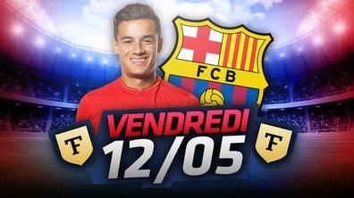 La Quotidienne du 12/05 : Les regrets de l'OL, Coutinho au Barça ?