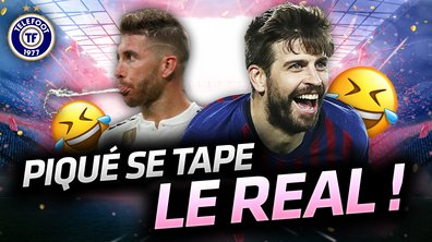La Quotidienne du 29/03 - Piqué se tape le Real Madrid !