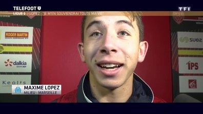 [Téléfoot 11/12] La réaction de Maxime Lopez après son 1er but en Ligue 1