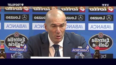 Real Madrid : Le beau discours de Zinédine Zidane après l'épilogue de la Liga