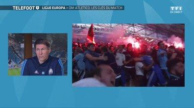 """Rudi Garcia aux supporters de l'OM : """"Soyez exemplaires"""""""