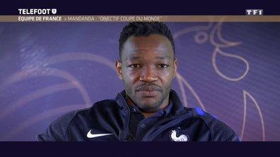 "Steve Mandanda : ""Objectif Coupe du monde"""
