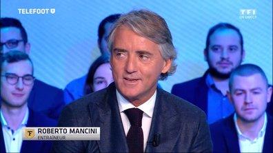 """[Téléfoot 29/01] Roberto Mancini : """"Entraîner le PSG ? Tout est possible !"""""""
