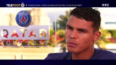 """Thiago Silva : """"Avec le maillot du PSG, tu es plus fort"""""""