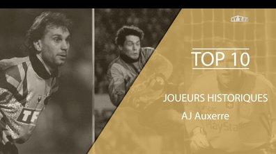 Top 10 - Les légendes de l'AJ Auxerre