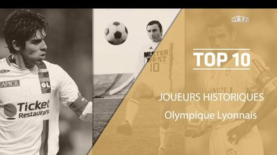 Top 10 : Les légendes de l'Olympique Lyonnais