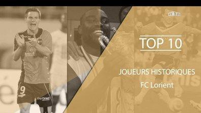 Top 10 - Les légendes du FC Lorient
