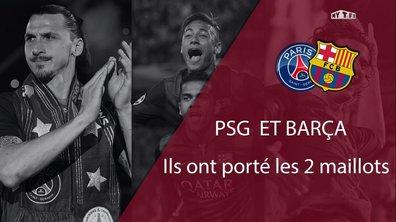 Top 10 : Ils ont joué au Paris Saint-Germain et au FC Barcelone