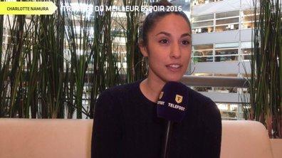 Trophée Téléfoot : le Meilleur espoir 2016 selon Charlotte Namura