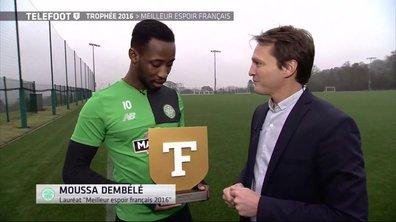Trophée Téléfoot : Moussa Dembélé sacré meilleur espoir français 2016