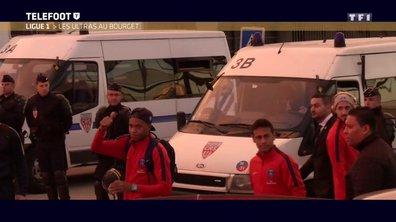 Les ultras du PSG au Bourget