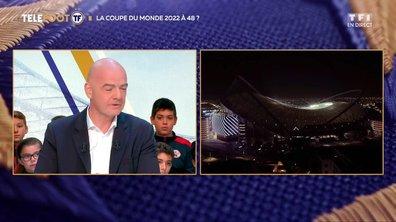 Une Coupe du monde à 48 équipes dès 2022 ? La réponse de Gianni Infantino