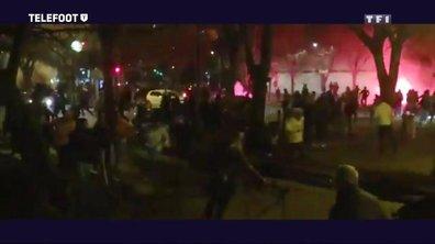 Les échauffourées à Marseille après la défaite de l'OM face au Stade Rennais