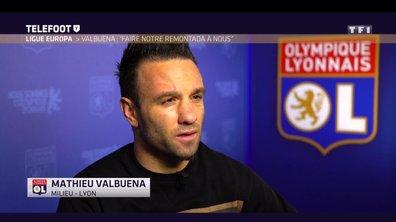"""OL - Valbuena : """"Faire notre remontada à nous"""""""