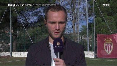 """[Téléfoot 27/11] Valère Germain : """"On est l'un des concurrents du PSG pour le titre"""""""
