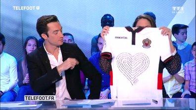 Vente aux enchères du maillot collector de l'OGC Nice au profit des victimes de l'attentat