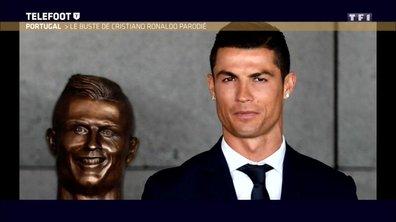 Le web se moque de la statue de Cristiano Ronaldo