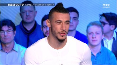 """[Téléfoot 26/02]  Younès Belhanda : """"J'aimerais bien rester à l'OGC Nice"""""""