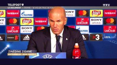 """Real Madrid - Zidane : """"Je vis un truc de fou !"""""""