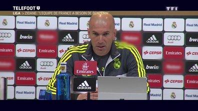 """Zinédine Zidane : """"L'Equipe de France aura besoin de Karim Benzema"""""""