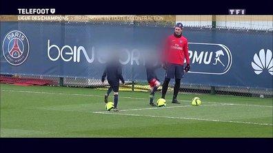 Quand Zlatan Ibrahimovic entraîne ses enfants au Camp des Loges