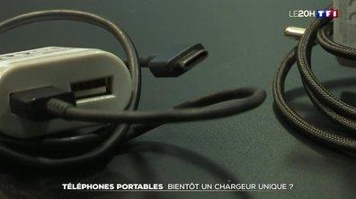 Téléphones portables : bientôt un chargeur unique ?