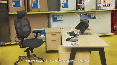 Télétravail : les Français s'équipent en masse