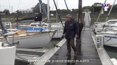 Tempête Amélie : la côte atlantique se prépare