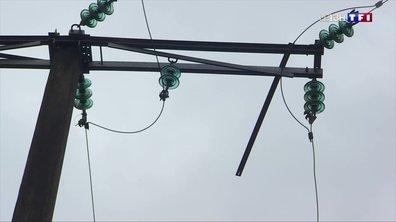 Tempête Amélie : les techniciens se mobilisent pour rétablir le réseau électrique en Gironde