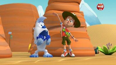 Ranger Rob - Tempête de sable dans le désert