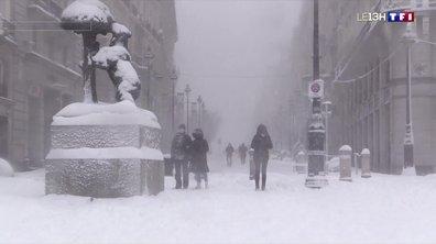 Tempête Filomena : chutes de neige historiques en Espagne