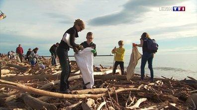 Tempête Gloria : cinq tonnes de déchets collectés sur la plage de Fleury