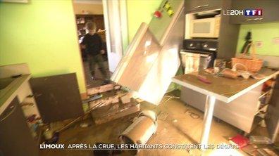 Tempête Gloria dans l'Aude : opération nettoyage après les inondations à Limoux