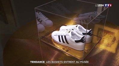 Tendance : les baskets entrent au musée