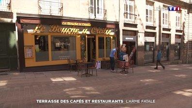 Terrasses des cafés et restaurants : à la recherche du moindre mètre carré en zone orange