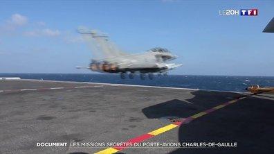 Terrorisme : les missions secrètes du porte-avions Charles de Gaulle