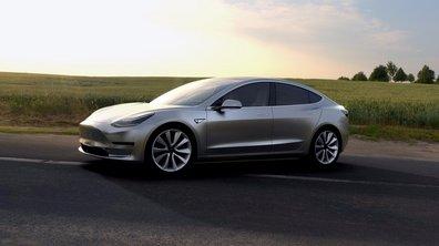 La Tesla Model 3 entrera en production au mois de juillet 2017