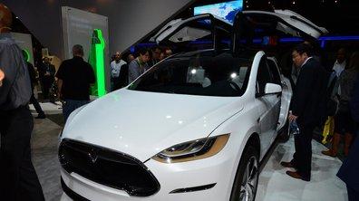 Le Tesla Model X débarquera début 2016