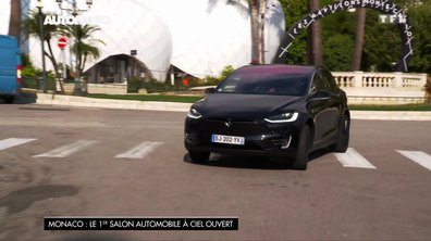 La Tesla Model X au Salon de Monaco 2017
