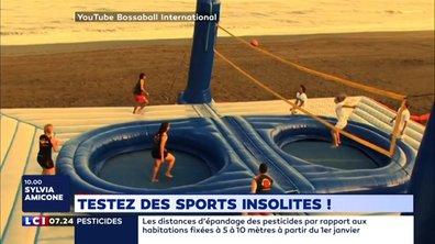 Testez des sports insolites !