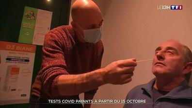 Tests Covid payants à partir du 15 octobre : ce qu'en pensent les Français
