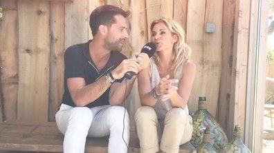 """Ingrid Chauvin en interview pour """"Demain nous appartient"""""""