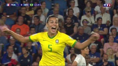 France - Brésil (1 - 1) : Voir le but de Thaisa en vidéo