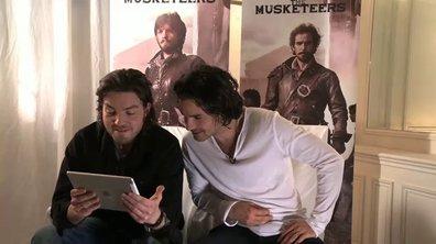 The Musketeers: Athos et Aramis découvrent leurs voix doublées !