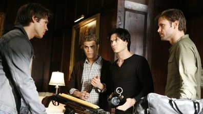 The Vampire Diaries : Stefan et Damon face au loup-garou