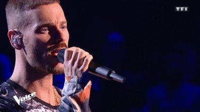 """The Voice 2020 - Matt Pokora interprète """"Si t'es pas là"""" sur la scène de The Voice"""