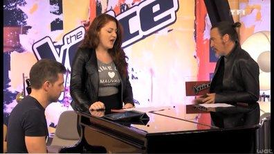 """The Voice 3 - EXCLU : Juliette Moraine chantera """"Comme un boomerang"""" en direct !"""
