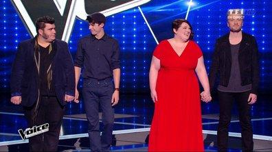 The Voice 4 : Le public sauve Yoann et Lilian, Zazie garde Guilhem et élimine Mathilde