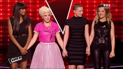 The Voice 4 : Awa, Anne Sila et Camille Lellouche continuent, Elvya éliminée par Florent Pagny