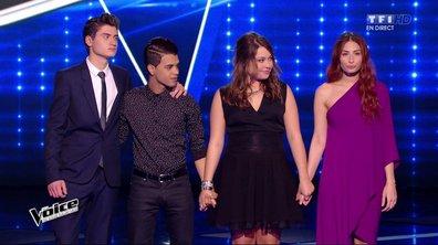 The Voice 4 - Team Mika : Ca passe pour David, Hiba Tawaji et Yann'Sine, c'est fini pour Sharon